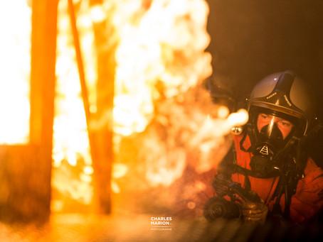 Mon baptême du feu avec les Marins-Pompiers de Brest