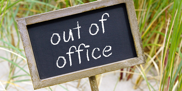 Out of the office sign | Business Consulting, Healthcare Consulting, Alternative Medicine Consulting, Salsbury & Co.