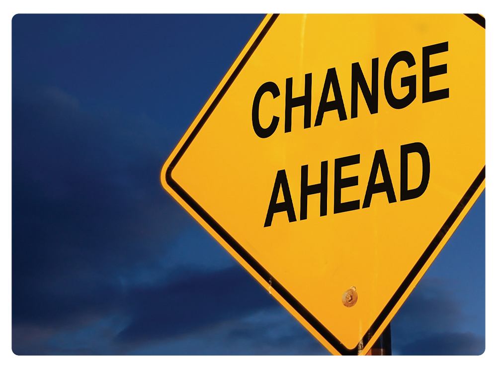 Change ahead sign Business Consulting, Healthcare Consulting, Alternative Medicine Consulting, Salsbury & Co.