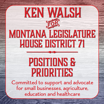 Ken Walsh for House District #71