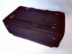 Parte traseira da Bag Soth Premium para Pedalboards._Alça mochila...