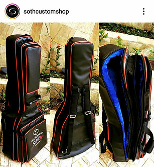 Semi-case Soth dupla guitarra e violão