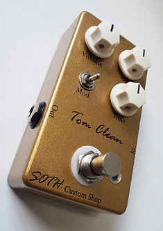 Pedal Soth Tom Clean Overdrive transparente/Booster