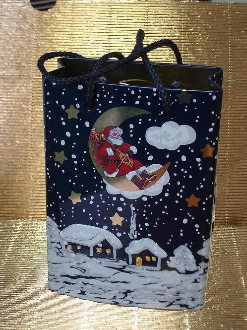 Жестяной новогодний пакет