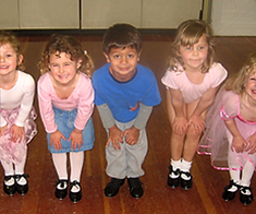 Our students enjoying their ballet and tap class