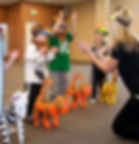 Dance classes throughout san jose for children 18 months and up