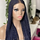 Thumbnail: 24inches kiekie full lace wig in dark blue (ready to ship)