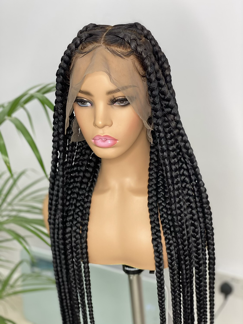 34inches  LOLA full lace wig in 1b (ready to ship)