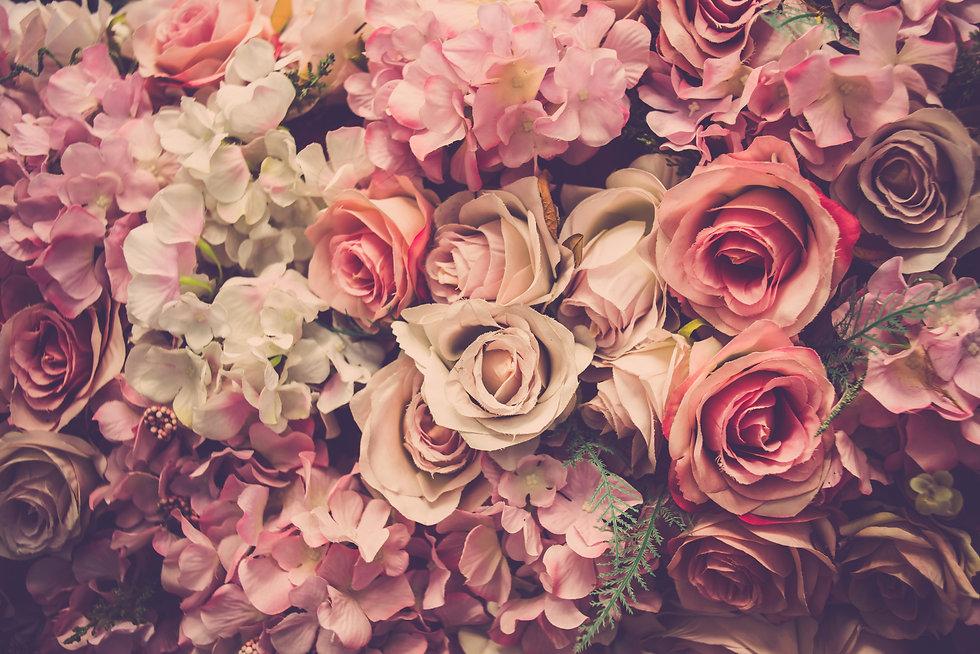 Pink roses background. Retro filter..jpg