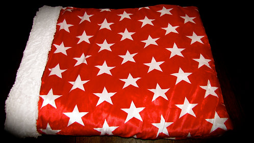 Red with White Stars Snuggle Pouch (Click here)