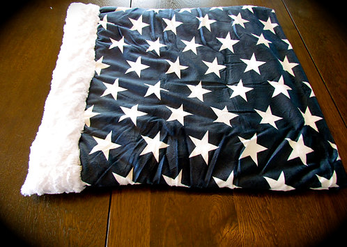 Blue with White Stars Snuggle Pouch (Click here)