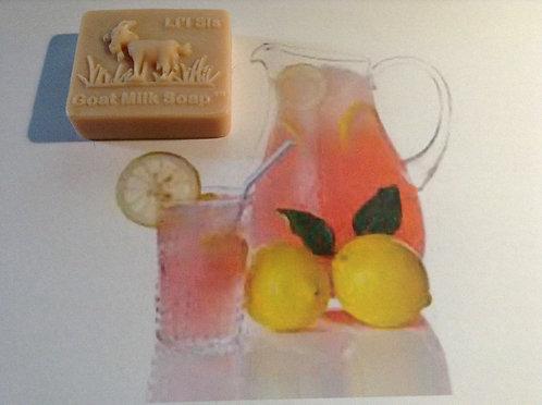 Li'l Sis Pink Lemonade Goat Milk Soap