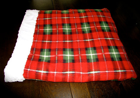 Red Tartan Plaid Snuggle Pouch (Click here)