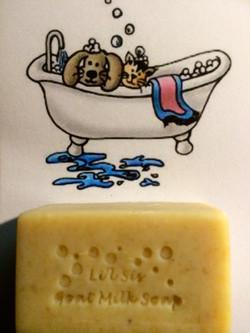 Li'l Sis Pet Goat Milk Soap