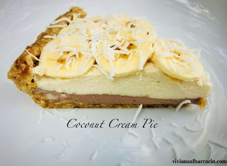 Recipe - Raw Coconut Cream Pie