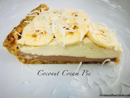 Recipe - Raw Coconut Cream Pie