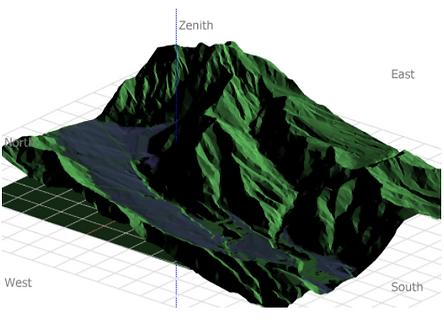 pvsyst 3Dシミュレーション
