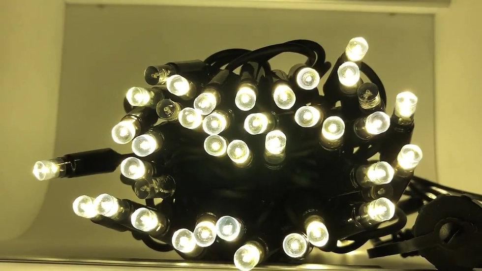 Warm White LED Sparkle String