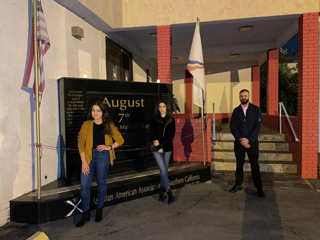 Interview with Sargon Saadi on behalf of the Assyrian Student Association of Los Angeles