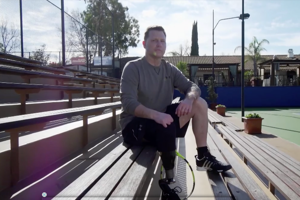 Tennis Channel: Three Years After Losing Parts of His Hands and Feet from a Potentially Deadly Illne
