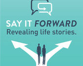 Say It Forward Podcast: Jonathan Koch Reveals His Life Story to Rebecca Rothstein