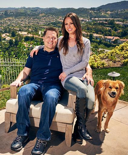 Jonathan Koch and his wife, Jennifer Koch