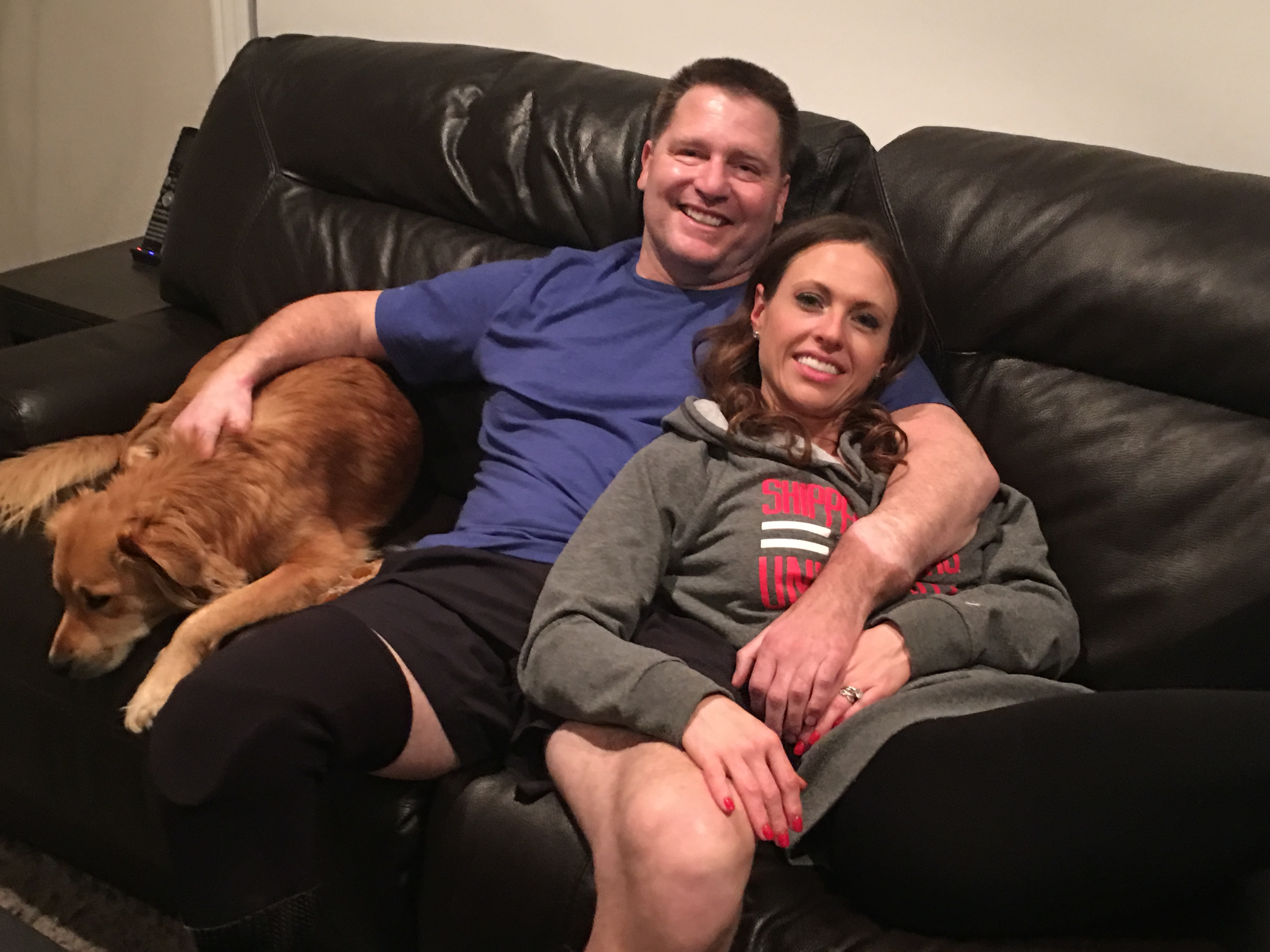 Jonathan and Jennifer - At home with Dogs 3