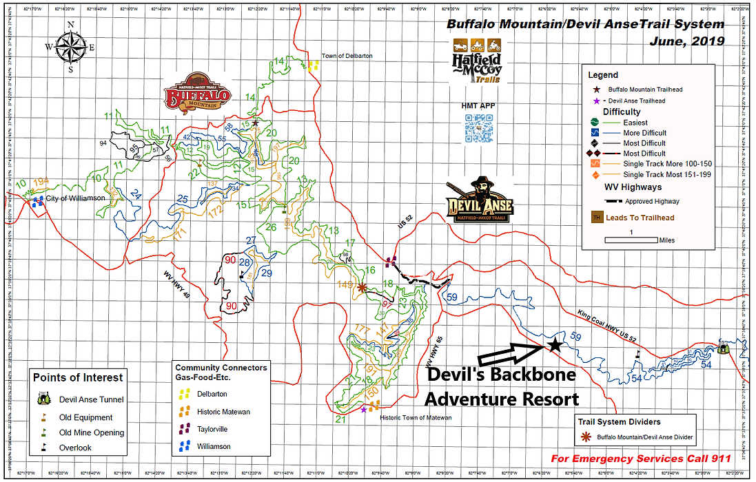 DBAR location on HM trail map.png