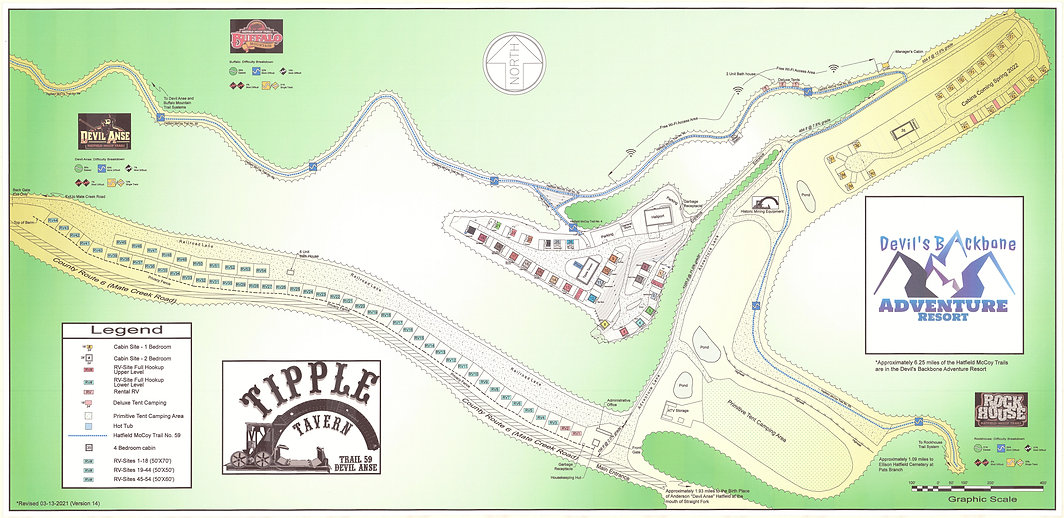Website Map - Colorized (Revised Version