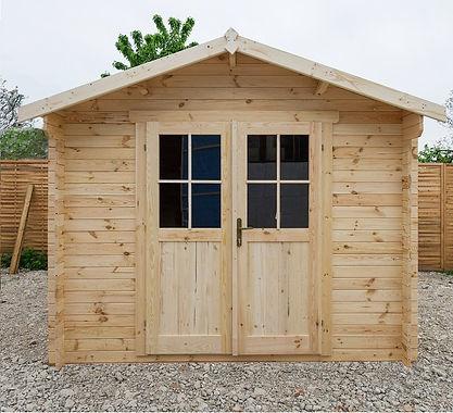 Gardy Shelter Gartenhäuschen aus Rohholz 9m²