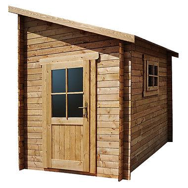 Shelter mit behandeltem Holz Gardy Shelter