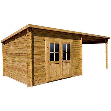Gardy Shelter behandelt Holzschutz