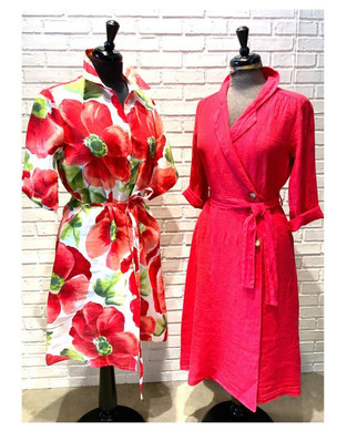 Brightly Coloured Dresses