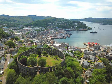 Oban, Scotland, McCraigs Tower | 7 Day Private Guided Tour