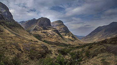 Glencoe Mountain Range, The Three Sisters, Scotland | 7 Day Private Outlander Tour Itinerary