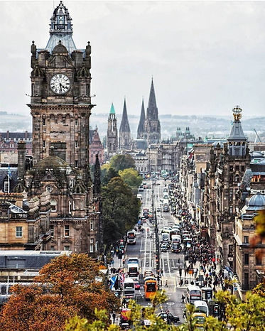 Edinburgh City, Scotland | 10 Day Private Guided Tour
