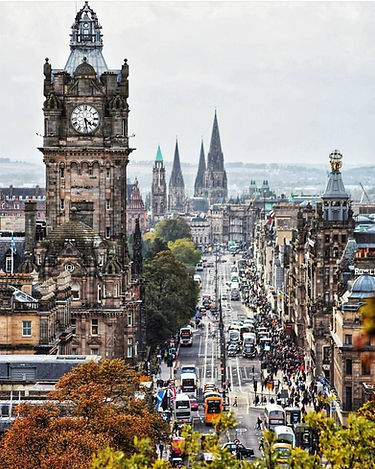 Edinburgh Princess Street, Scotland | 3 Day Private City Tour