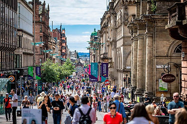Glasgow City Centre, Buchanan Street, Scotland | 7 Day Private Guided Tour