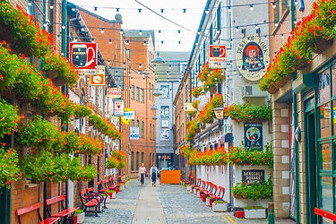 Belfast City Street, Northern Ireland | 6 Day Private Guided Tour Itinerary