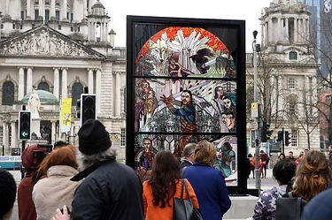 Belfast Game of Thrones Stainglass, Northern Ireland   6 Day Private GOT Tour Itinerary