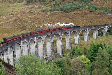 Glenfinnan Viaduct, Scotland | 4 Day Private Driver-Guided Tour