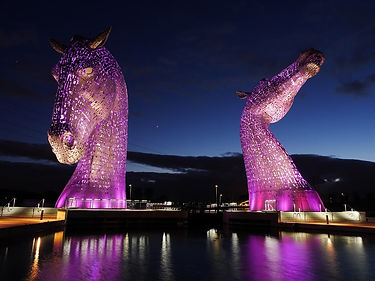 Kelpie Statues, Scotland | 3 Day Private Tour Itinerary