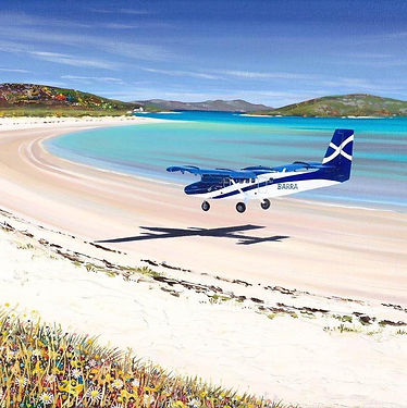 Isle of Barra, Beach Airport, Scotland | 15 Day Private Guided Tour