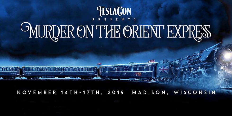 Teslacon 10: Murder on the Orient Express