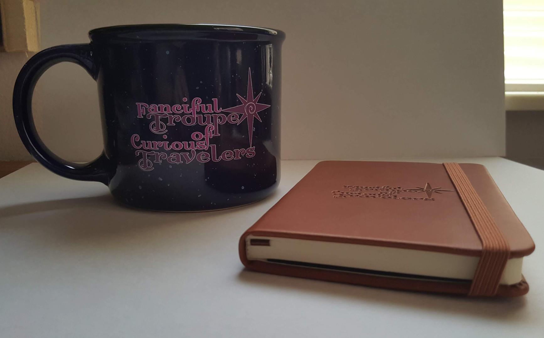 Mug and Journal side