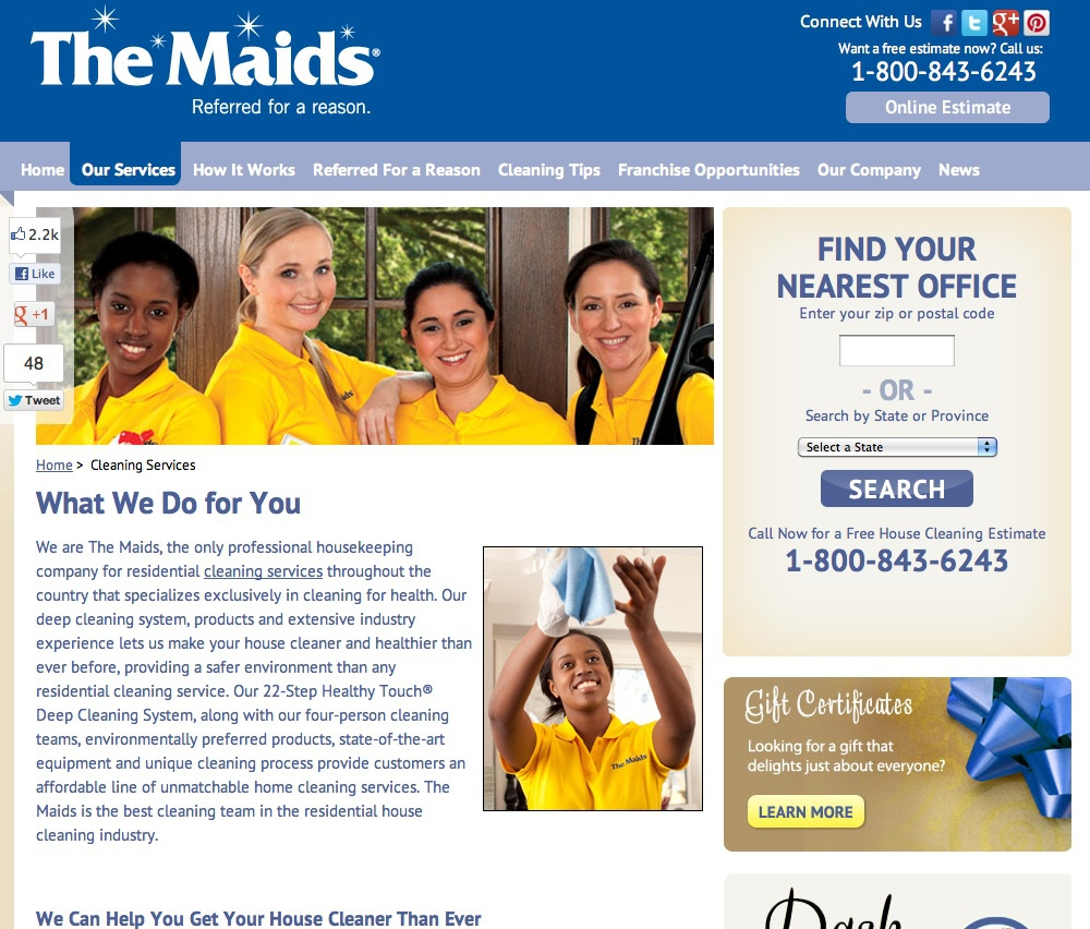 The Maids Campaign