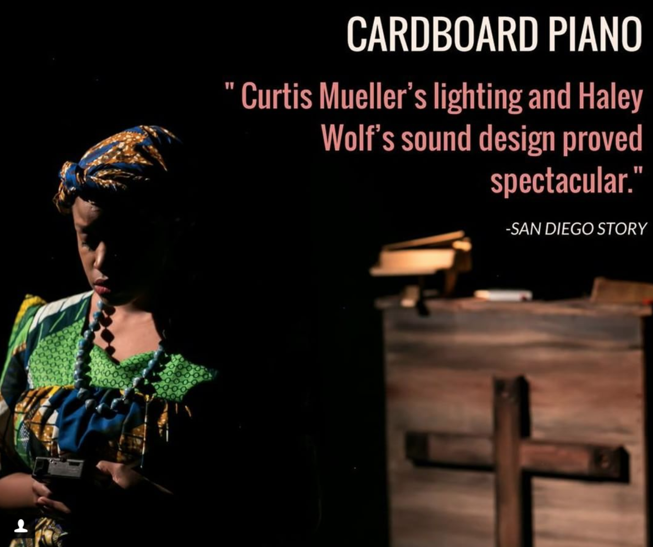 """""""Cardboard Piano"""""""