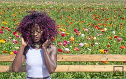 Shana at the Flower Fields