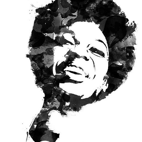 Nina Simone - Canvas Print