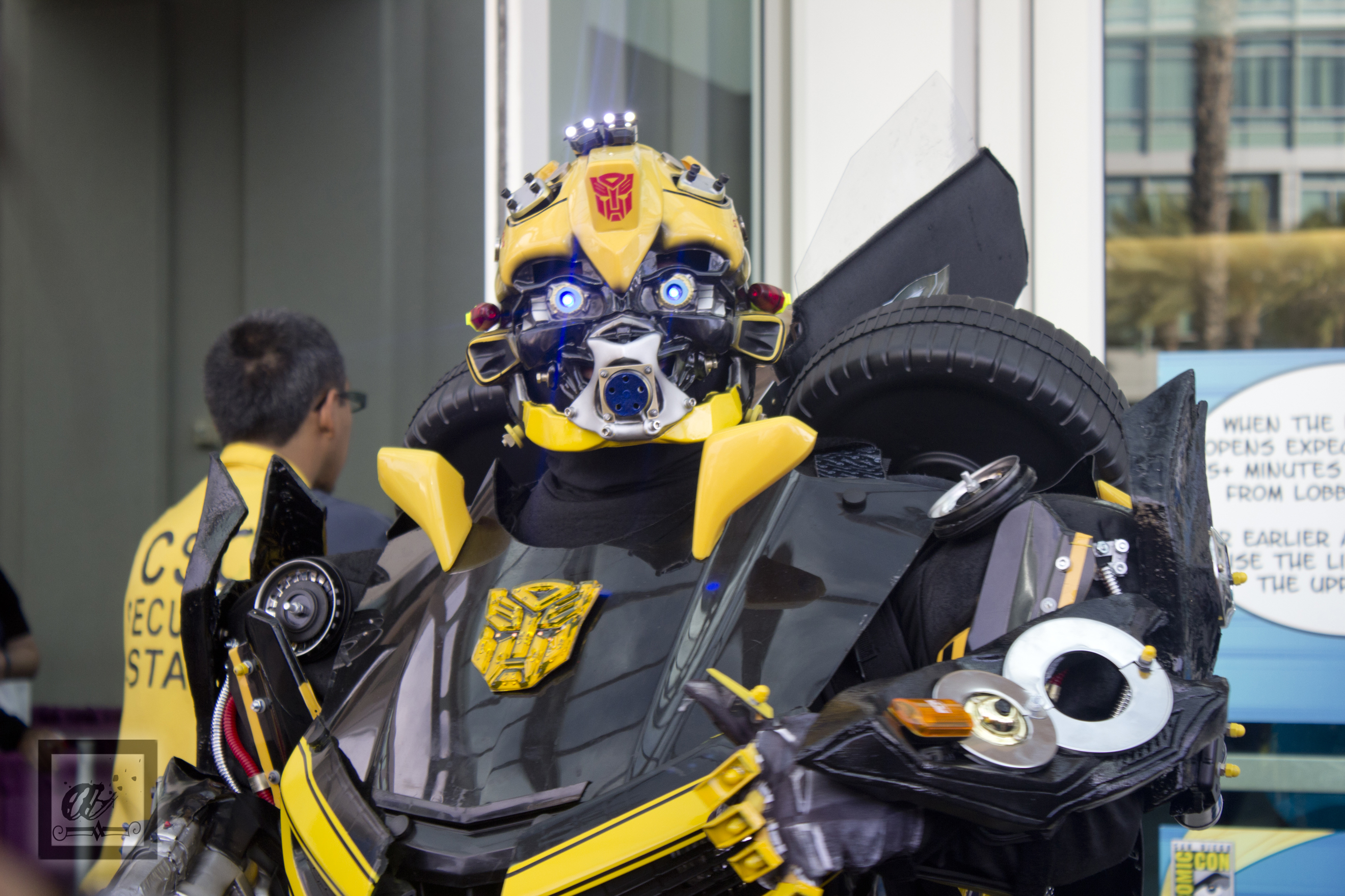 SDCC 2015 Bumblebee Cosplay